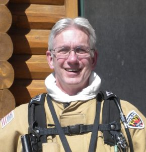 John Andrews, M.D.,EMT : Volunteer. Executive Assistant. Medical Officer