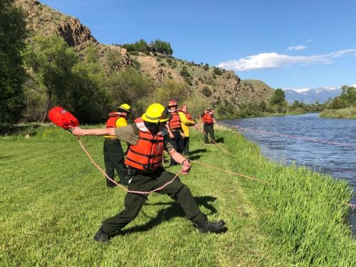 Swift Water Rescue Training 6/4/19