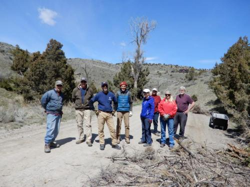 Nixon Gulch Cleanup Day, 5/1/19