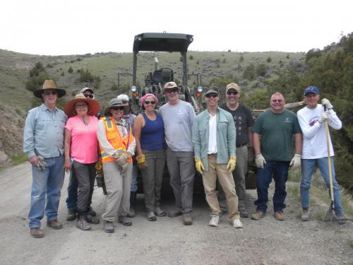 Nixon Gulch Cleanup Day, 5/16/2018