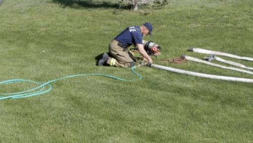 Hose pressure testing and cleaning 6/1/19
